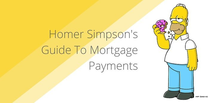 Homer Simpson's Guide To Mortgage Payments