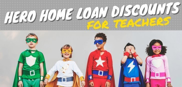 Hero Home Loan Discounts For Teachers